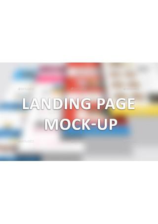 Landing Page Mock Up