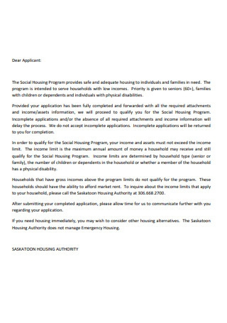 Landlord Reference Letter Form