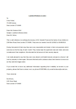 Reference Letter For Apartment From Employer from images.sample.net