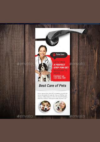 Pets Doctor Clinic Door Hanger