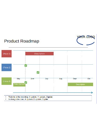 Printable Product Roadmap