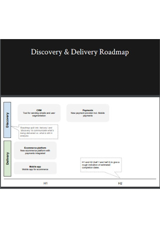 Product Road Map Template