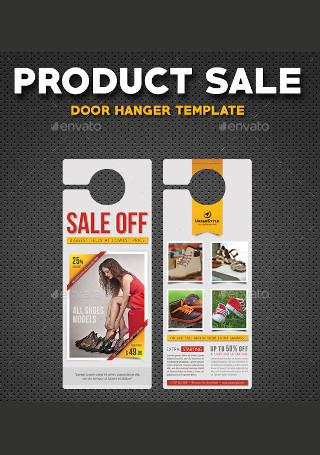 Product Sale Door Hanger