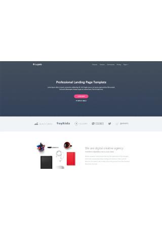 Professional Landing Page