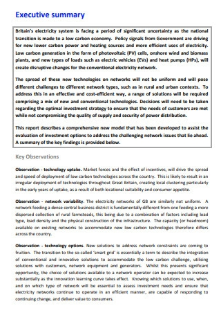 Project Consulting Report Template