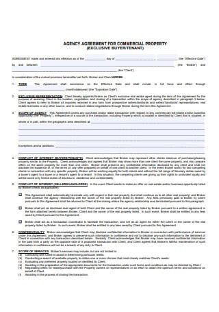 Property Broker Agreement