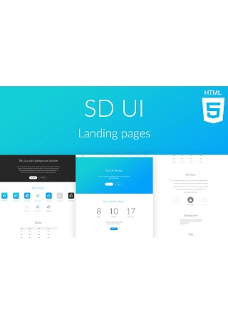 SD UI Landing Pages