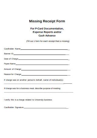 47 Sample Receipts In Pdf Ms Word Excel