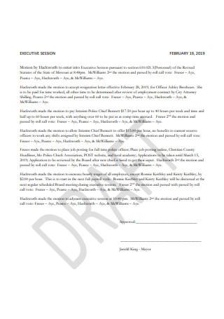 Sample Resignation Letter of Police