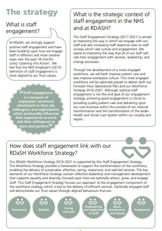 Sample Staff Engagement Strategy