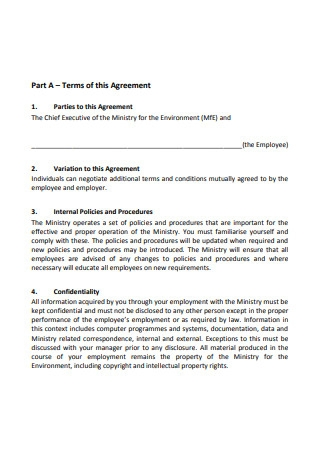 Simple Individual Employment Agreement