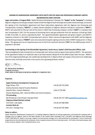 Sining Shareholders Agreement