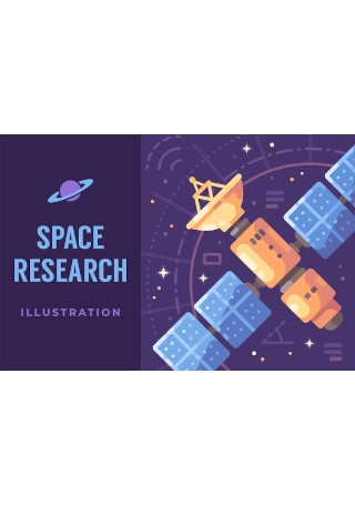 Space Research Poster