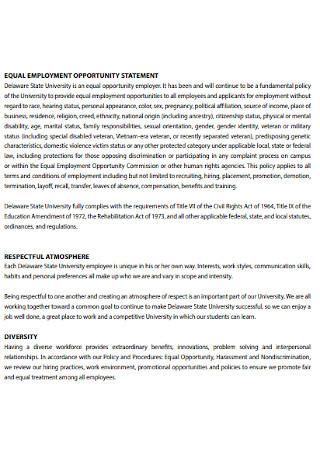 State University Employee Handbook