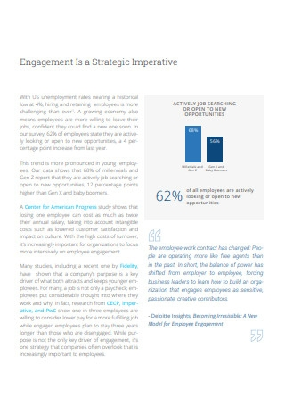 State of Employee Engagement