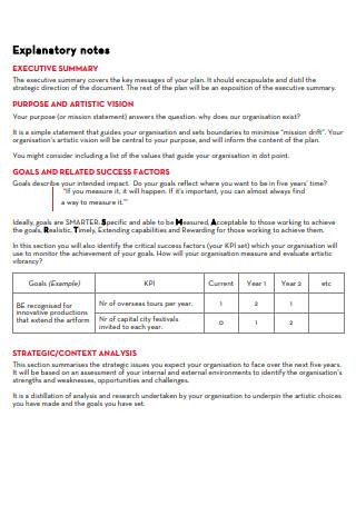 Strategic Plan Framework in PDF