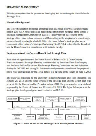 Strategic Plan Review Process