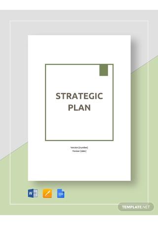 Strategic Plan Template1