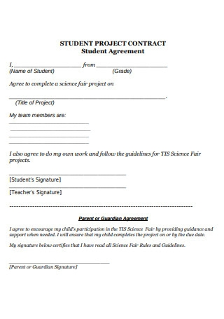Student Agreement