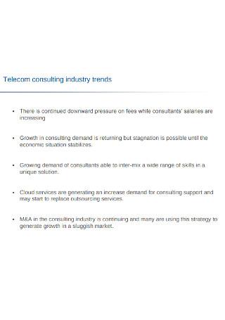 Telecom Consulting Report