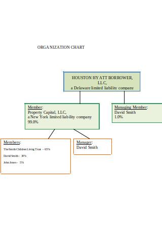 Tentative Organizational Chart