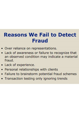 Travel Expense Reporting Fraud