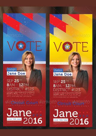 Vote Election Door Hanger