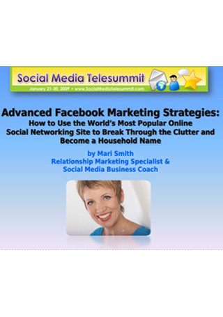 Advanced Facebook Online Marketing Strategies Sample