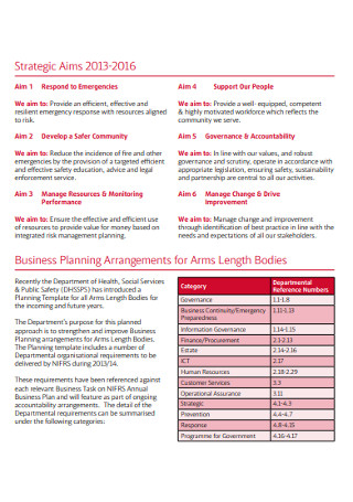 Annual Company Business Sales Plan