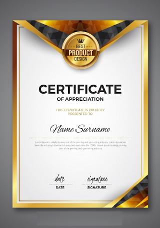 award certificate image