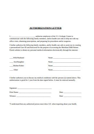 Basic Authorization Letter Format