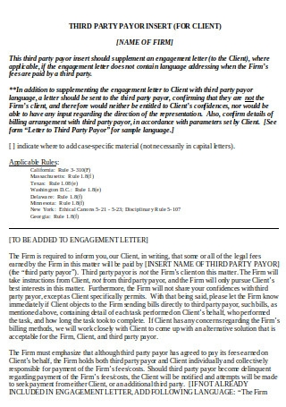 Basic Engagement Letter