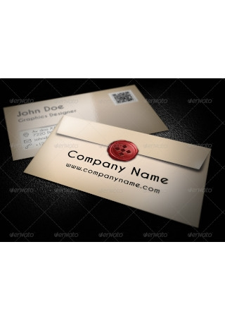 Business Envelope Card