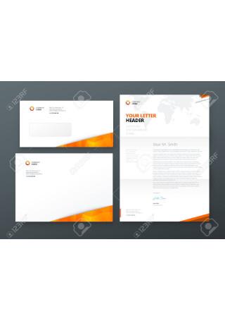 Business Letter Envelope InDesign