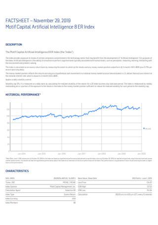 Capital Fact Sheet