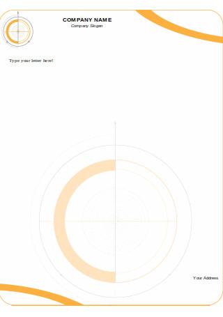Designed Company Letterhead