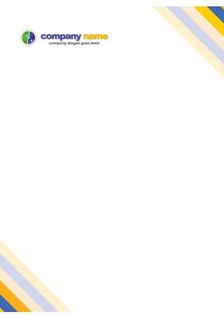 Easy Editable Company Letterhead