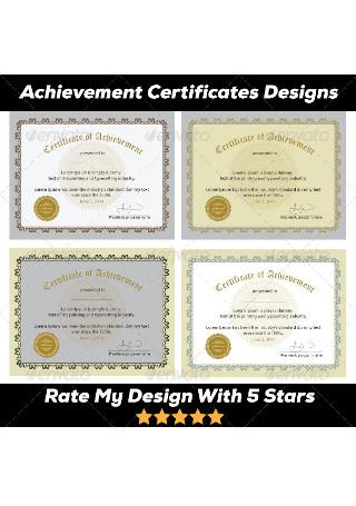 Excellence Award Achievement