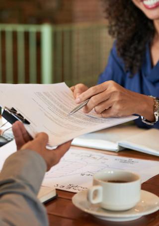 finance agreement image