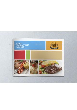 Food Products Catalog Brochure Sample