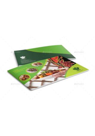 Food Products Catalog Brochure