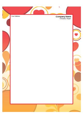 Framed Company Letterhead