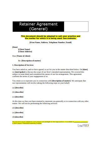 General Retainer Agreement