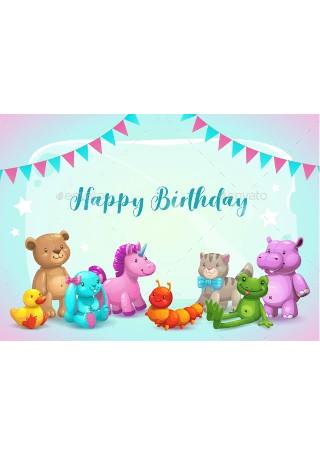 Happy Birthday Greeting Card Sample