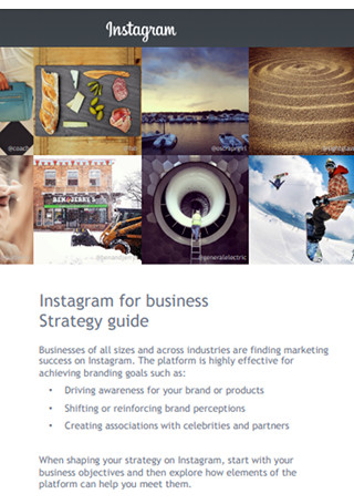 Instagram Strategy Guide Sample