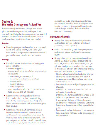 Marketing Strategy and Action Plan