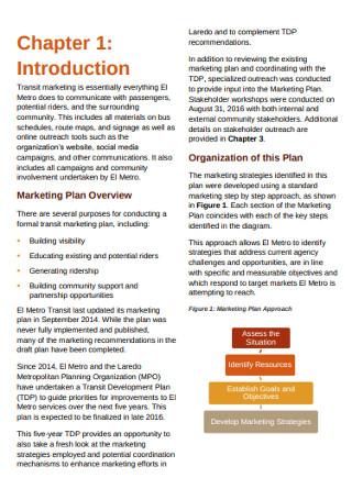 Metro Marketing Plan