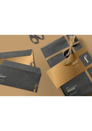 Modern Business Envelope Mockup