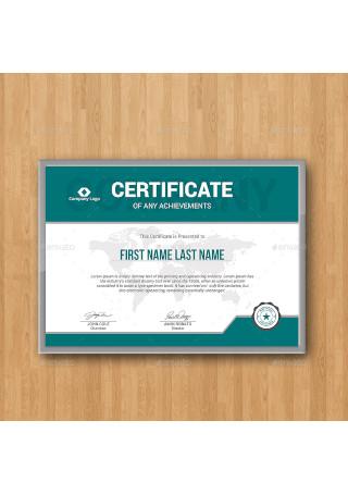 Modern Certificates