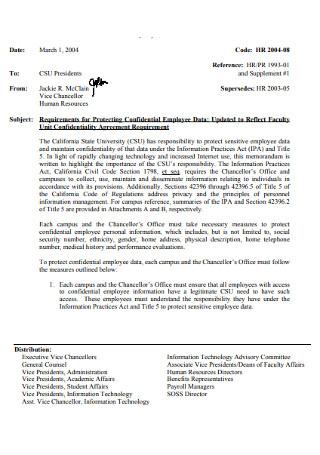 Office HR Employee Cover Letter